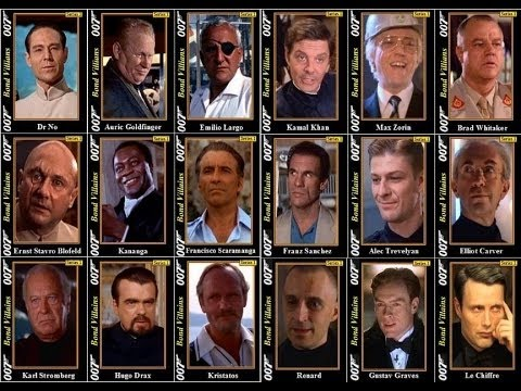 50 Years Of Bond Part 3: Villains & Favorites