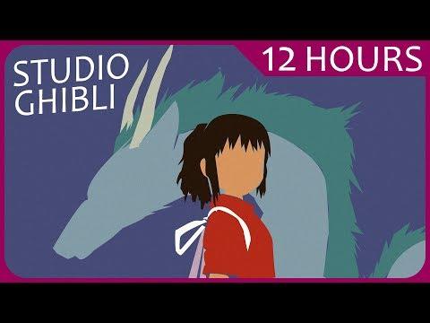 【12 HOURS】 Relaxing Studio Ghibli Music for Sleeping & Studying スタジオジブリリラクシング音楽 • 音楽を勉強する • 睡眠音楽