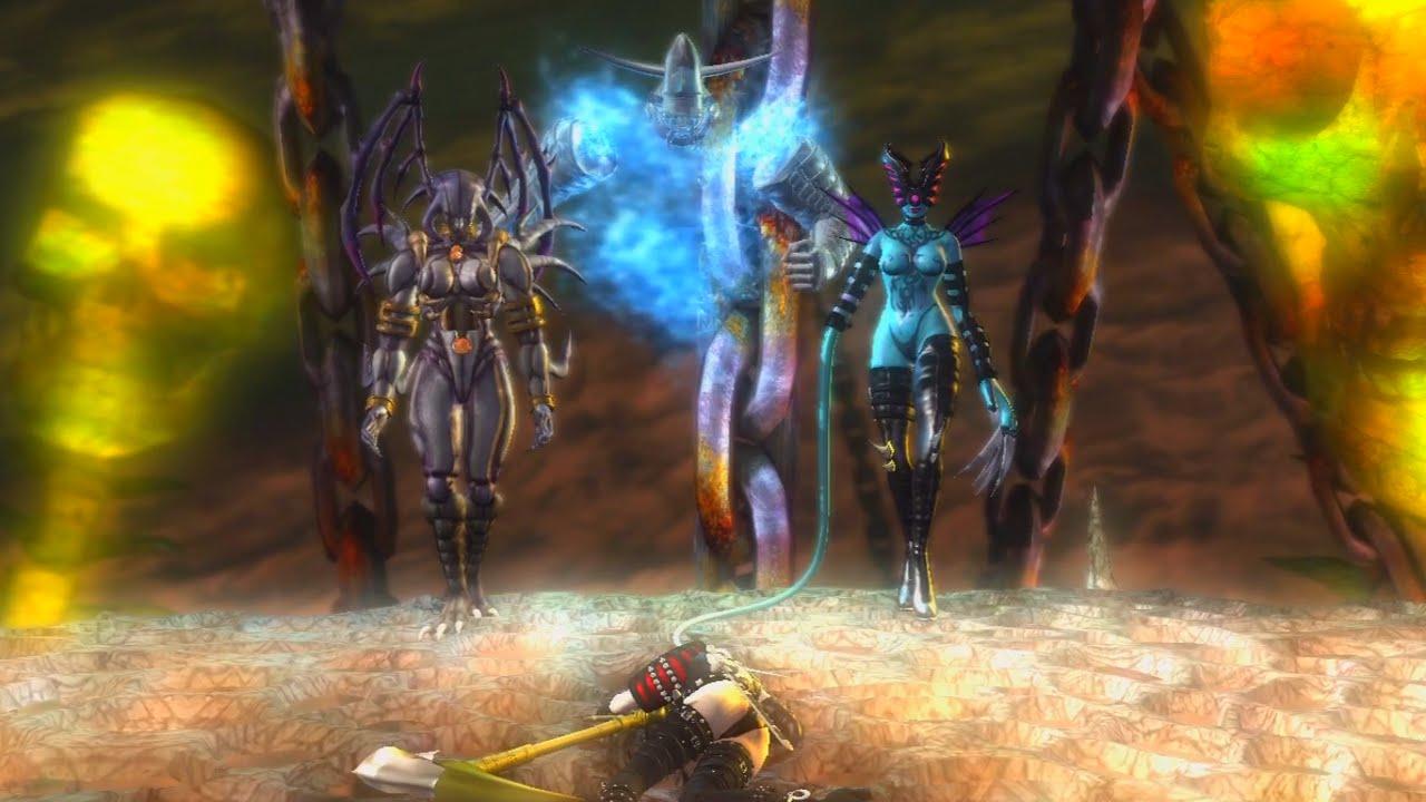 Ninja Gaiden Sigma Story Mode Playthrough Part 16 Rachel And The Ancient Twin Deities Youtube