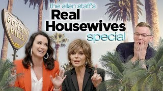 Real Housewives Lisa Rinna and Kyle Richards Bring the Drama to the Cube!