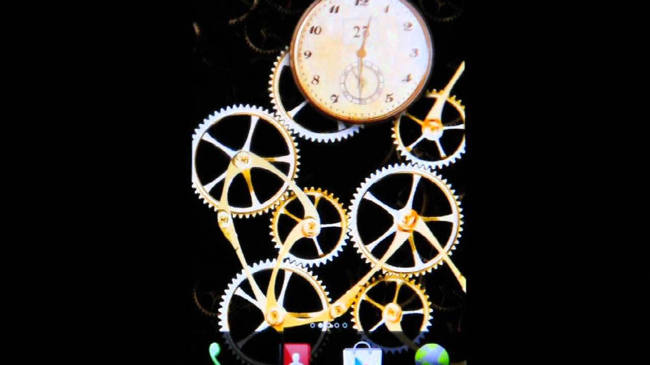 Android Mechanical Clock Live Wallpaper