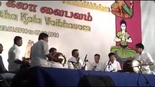 Thavil  Kalaimamani Mannargudi M.R.Vasudevan and  T.G.Babu and V.M.Ganapathi