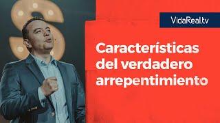 Características del verdadero arrepentimiento. | Notificaciones | Pastor Rony Madrid