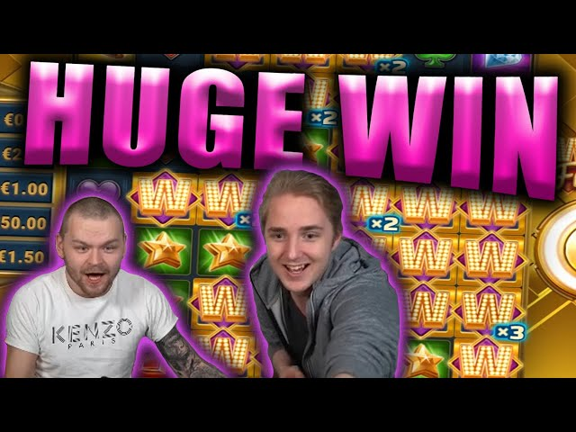 HUGE WIN on WILD FRAMES - Casino Slots Big Wins