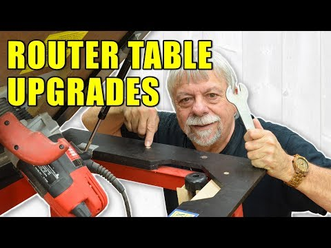 DIY Router Table Workflow Upgrades