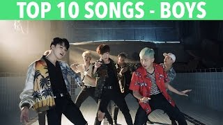 Top 10 K-pop Songs (boys) - K-ville's Staff Picks