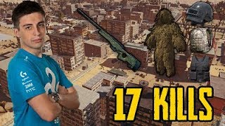 Shroud 17 Kill Solo Game On New Desert Map - Playerunknown's Battlegrounds