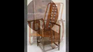 Fantastic Wood Chair - Filled With Hand Work