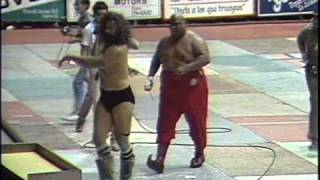 WWC: Bruiser Brody vs. Abdullah The Butcher