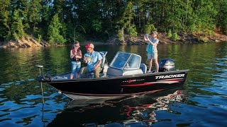 TRACKER Boats: 2017 Pro Guide V-175 WT Deep V Aluminum Fishing Boat