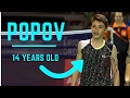 CRAZY BADMINTON RALLY by POPOV 14 years old