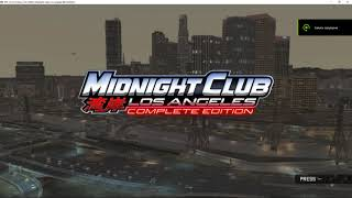 RPCS3 v0.0.5 6860 Midnight Club: Los Angeles Complete Edition