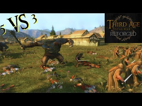 Third Age: Total War (Reforged) - THE DEFENCE OF IRONWOOD (Battle Replay)