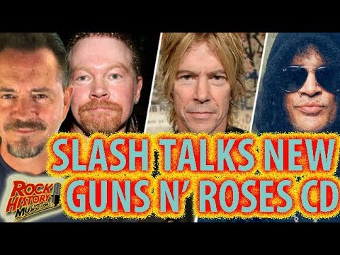 Slash Talks About a New Guns N' Roses Album  Will It Ever Happen?