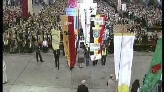 Ancoli 2011 à Lourdes : la procession d