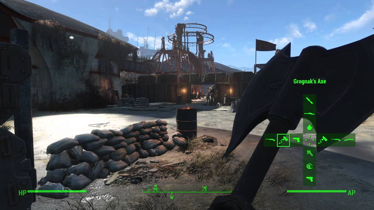 fallout 4 how to get the gatling laser quick and easy