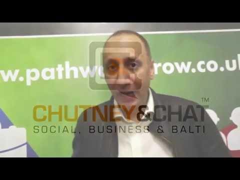 Hanif Khan From Birmingham Innovations Ltd At #ChutneyandChat