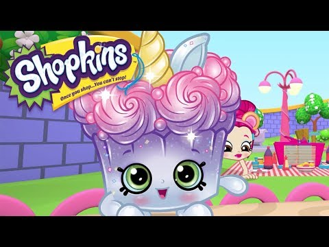 SHOPKINS Cartoon - SUPER SPARKLE UNICORN MUFFIN | Cartoons For Children