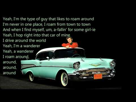 The Wanderer Dion and the Belmonts with Lyrics