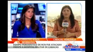Periodista agredida acepta las excusas del ministro Ernesto Villegas tras ataque en Venezuela