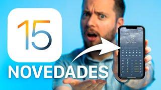 🔥 Apple lanza iOS 15, estos son todos sus CAMBIOS y NOVEDADES
