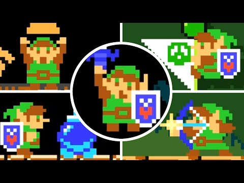 Super Mario Maker 2 - New Master Sword Power-Up (All Abilities and Animations)