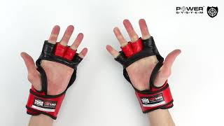 Перчатки для MMA Power System 5010