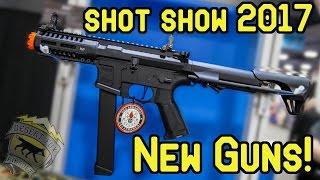 Desertfox airsoft: shot show 2017  | new airsoft guns! g&g armament, asg and pts