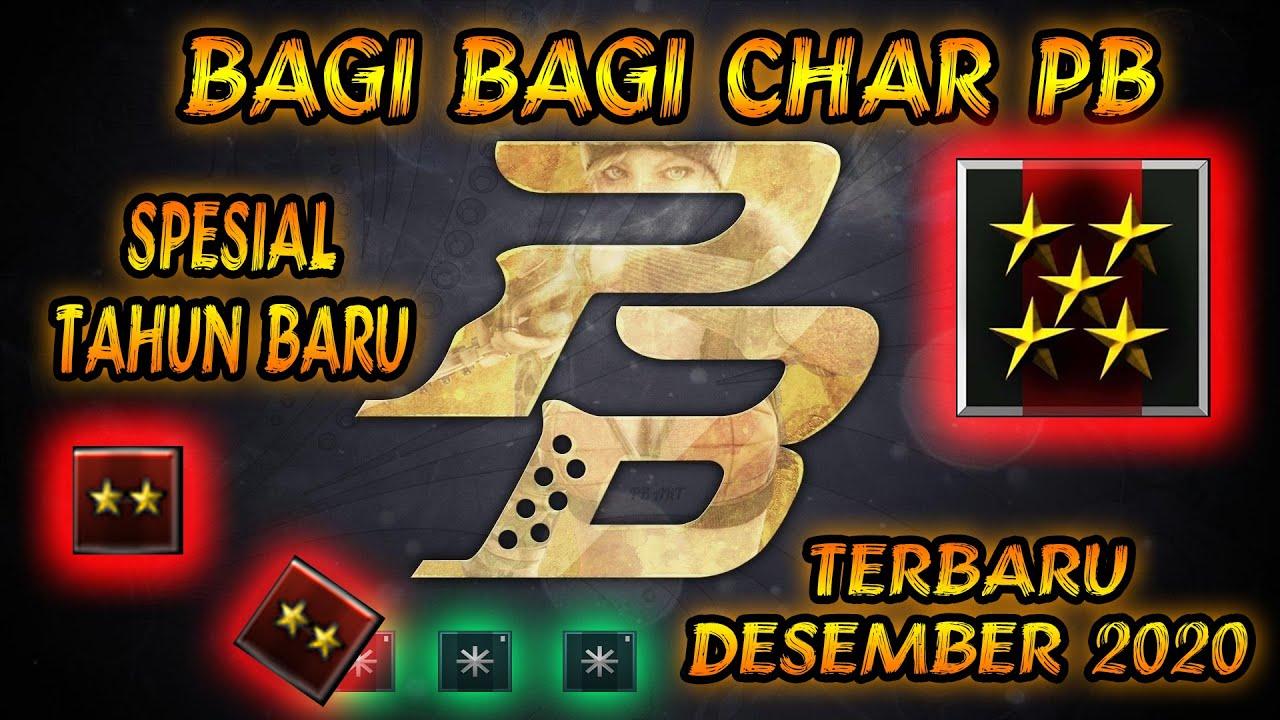 Bagi Bagi Char Pb Gratis Spesial Tahun Baru Cute766