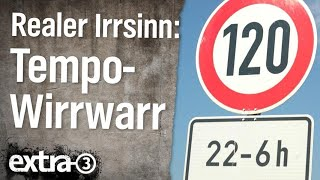 Realer Irrsinn: Tempo-Wirrwarr auf der Schwäbischen Alb | extra 3 | NDR