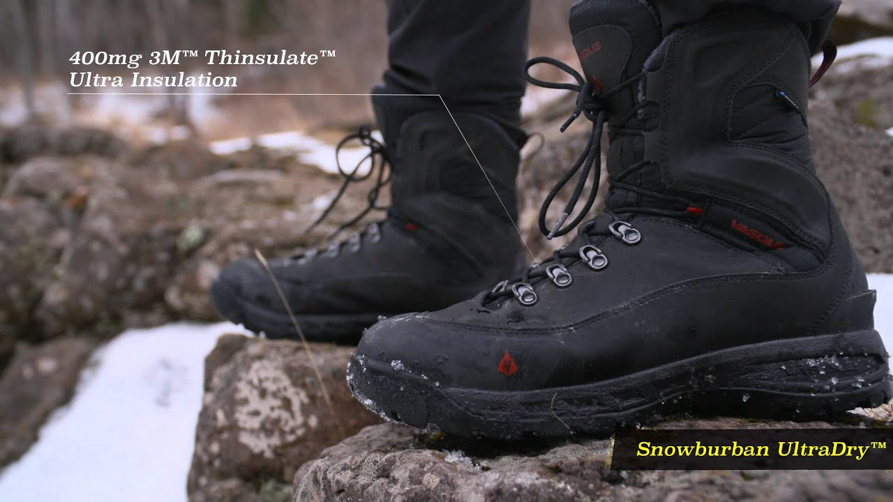 Winter Hiking Boots From Vasque Youtube
