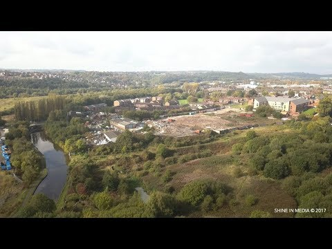 Burslem Port - The canal that's awash with pottery history  (Drone Footage)