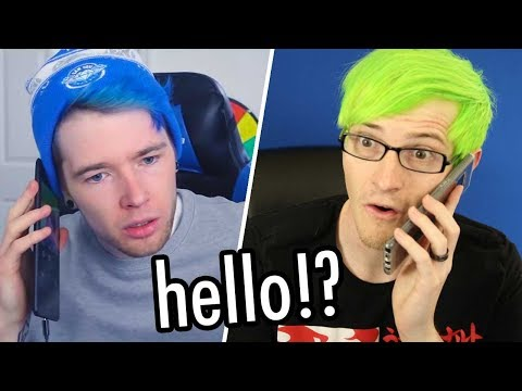 Calling my twin brother Dantdm...