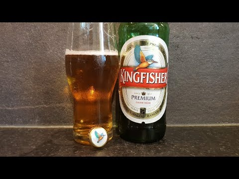 Kingfisher Premium Lager Beer | Indian Beer Review