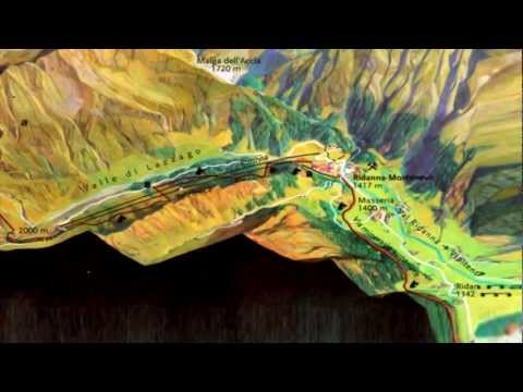 General information about the mining area: The World of Mining Ridnaun Schneeberg (1)