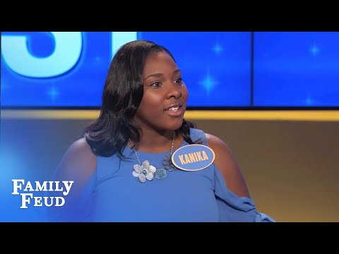 HOLY CRAP! There's a UFO in the yard! | Family Feud