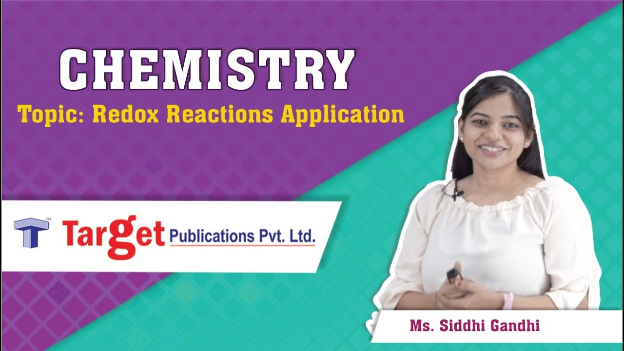 NEET-UG/JEE (Main) - Chemistry - Redox Reaction - Applications