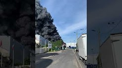Incendie EURASIA GROUP Le Blanc Mesnil