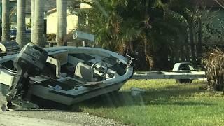 Hurricane Irma aftermath Everglades City