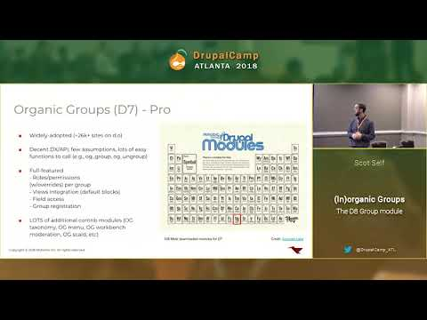 DCATL 2018 - Inorganic Groups   The D8 Group Module - Scot Self on YouTube