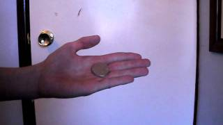 how to make a coin appear then disappear