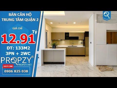 Bán căn hộ hiện đại Sala Sarimi Quận 2, diện tích 132m2 thiết kế 3 phòng ngủ 2wc | Propzy
