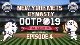 Out of the Park Baseball (OOTP) 19: New York Mets Dynasty - 2018 NL Wild Card Game [EP4]