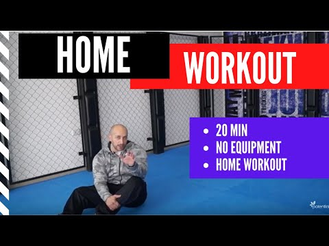 Coronavirus Workout 20 minutes or less workout at home (no equipment needed)