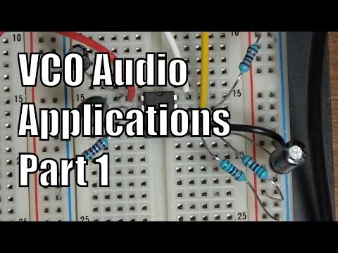 VCO Audio Applications Part 1- Synthesizer Building Block (Voltage Controlled Oscillator)