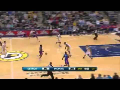 Indiana Pacers Vs Detroit Pistons - Game Recap & Highlights - 26/12/2011