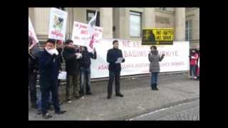 Turkish Youth Union TGB : World Wide Protest Against Patriot Missiles in Turkey ENG/TR/GER