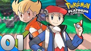Detonado Pokémon Platinum #01 - O INÍCIO DE UMA GRANDE AVENTURA EM SINNOH (2017)