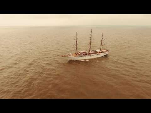 The Tall Ships Races Klaipeda 2017 Lithuania Guest:The SEA CLOUD II a very special cruise ship