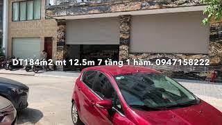 Bán toà nhà văn phòng Phố Trần Thái Tông 184m2 8 Tầng